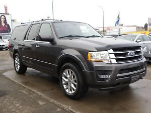 2017 Ford Expedition Max EL Limited 4X4|LOADED|GPS|B.CAMERA|LEAT
