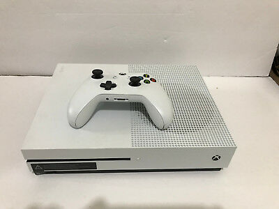 Microsoft Xbox One S - White/Green - Console & Bundle Option