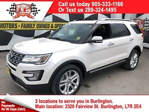 2017 Ford Explorer Limited, Navi, Leather Pan Sunroof, 4*4, 26,0