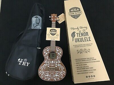 KALA-LTP-MH Mandy Harvey Signature Tenor Learn To PLay Ukulele for sale  New Canaan