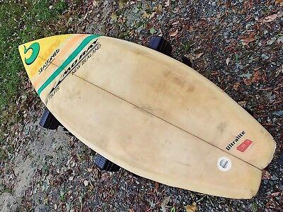9e68fa3d06 Retro VINTAGE SEASONED SURFBOARD Oakley Ultralight Clark Foam
