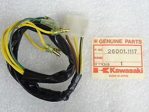 kz650 wiring harness kawasaki nos new 26001 1117 center wiring harness kz kz750 kz650 csr 1980 83