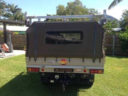 Ute tray with canopy and more to suit Toyota Land Cruiser 40's.