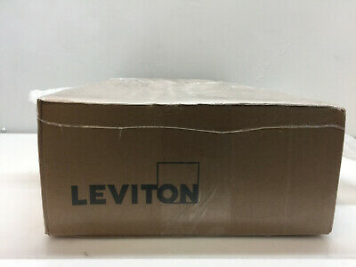 Leviton 100 Amp Mini Meter Kit With 2 Solid Cts And Outdoor Enclosure Mo240-1sw