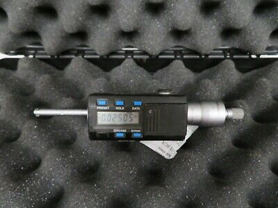 Mitutoyo 468-261 .275-.35 Htd Digimatic Holtest Internal Micrometer Mh12