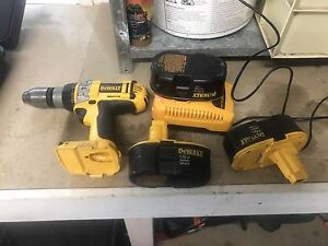 Dewalt cordless drill and radio Canungra Ipswich South Preview
