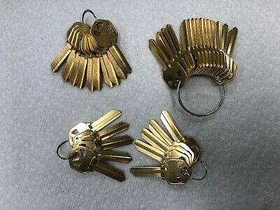 Kwikset Kw1 Blank Keys Brass Key Blanks
