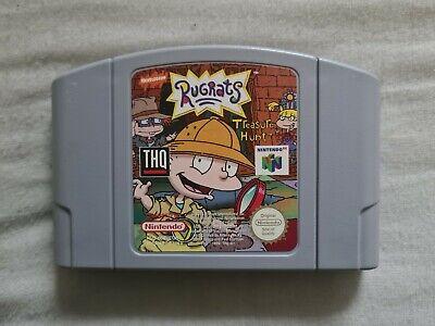 RUGRATS TREASURE HUNT Nintendo 64 N64 Game PAL VERSION Rug Rats (2)