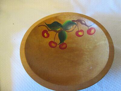 cherry wood Japan Vintage Wheelbarrow fruit bowl