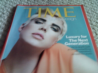 TIME MAGAZINE STYLE & DESIGN Spring 2008 Luxury For 20's next generation Near mt