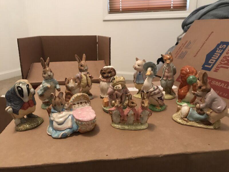 Beatrix Potter Figurines Beswick England