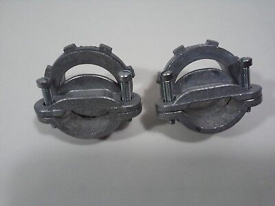 Nm Cable Clamps - Connectors/Clamps for round #2 NM Cable 1-1/4