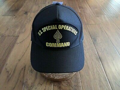 U.S SPECIAL OPERATIONS COMMAND HAT OFFICIAL U.S MILITARY BALL CAP U.S.A MADE Command Military Hat