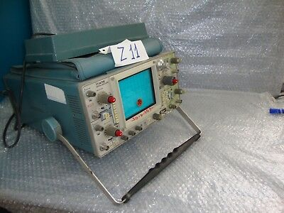Tektronix L 475 Oscilliscope For Parts Only Or Repair