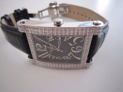 Swiss Legend Women's Eleganza 2.64 ct Diamond Leather Watch in mint (Eleganza Diamond)
