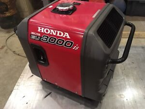 Honda eu3000is inverter generator.