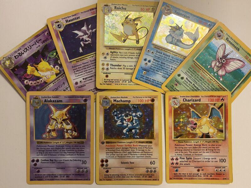 Pokemon TCG Cards WOTC Jungle Complete Uncommon Set 16 cards NM