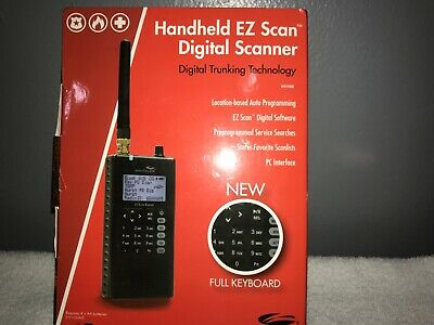 Handheld portable Whistler WS1088 EZ SCAN Digital scanner Digital Trunking Tech.