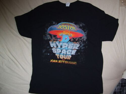 Boston band 2017 hyper space tour rock shirt 2 sided brand new never worn large
