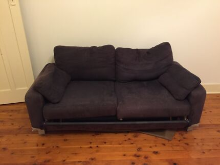 Free Sofa with pull out double bed  North Bondi Eastern Suburbs Preview