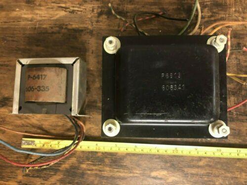 Schumacher power & output Transformer set OPT PT tube amp amplifier project