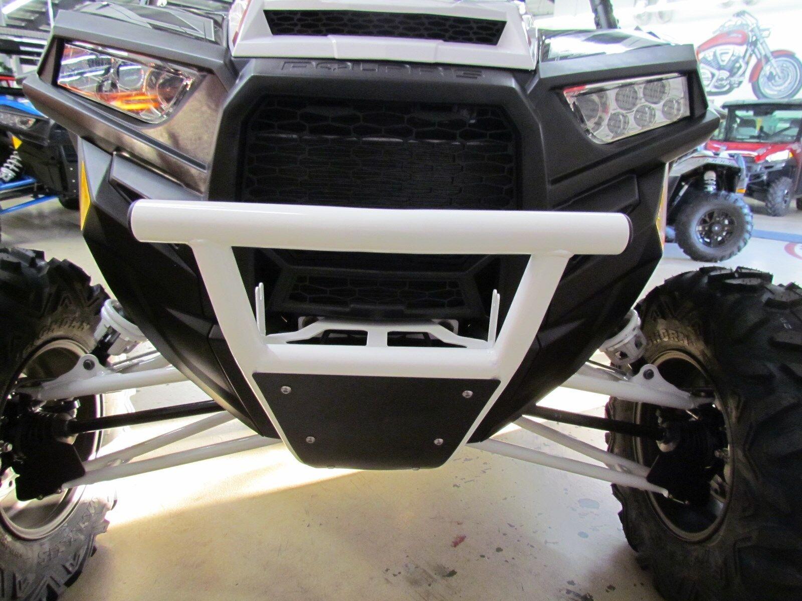 Polaris RZR 2014-2018 XP/4 1000 900 Turbo WHITE Front  Bumper/Skid Plate