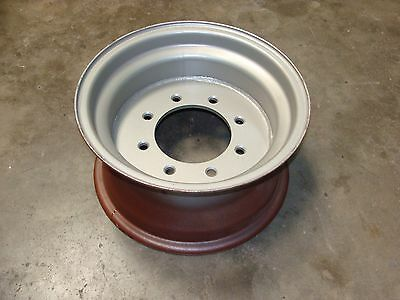 Tractor Equipment Heavy Duty Wheel Rim 15 X 8 W 12 Center Plate 8-8 Lugs