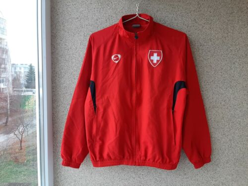 Switzerland Olympic Games Jacket Nike Tiempo Red Swiss Suisse Olympic