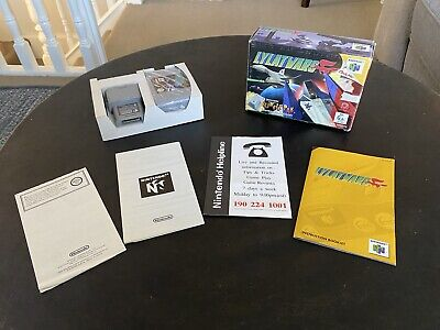 Lylat Wars Nintendo N64 AUS PAL Version Boxed CIB With Original Insert