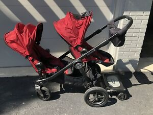 2014 excellent condition baby jogger city select double stroller