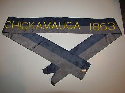 St557 US Army Streamer Civil War Chickamauga 1863 IR41