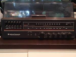 National Panasonic 3 in 1 Record Player, Radio and Cassette Newtown Inner Sydney Preview