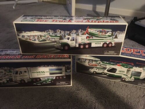 Hess Trucks - 2001-2005, 2007-2008, 2010 & 2018