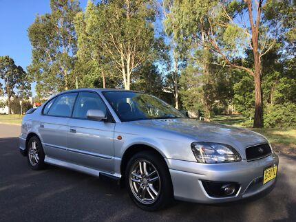 2003 Subaru Liberty RX AWD Sedan Low Kms Silver  Moorebank Liverpool Area Preview