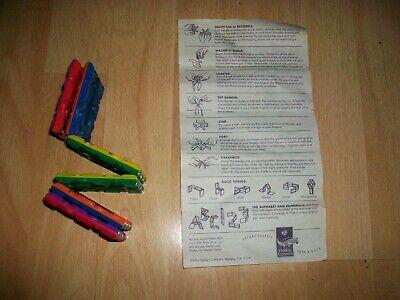 Jacobs Ladder Fidget Toys Calming 1996 DaMert Co. instructions