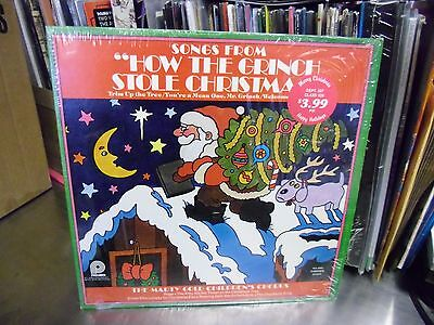 Songs From How The Grinch Stole Christmas LP 1973 Pickwick Records IN Shrink EX  ()