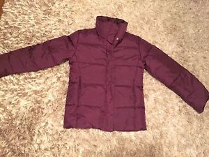 Small plum jacket. New condition.