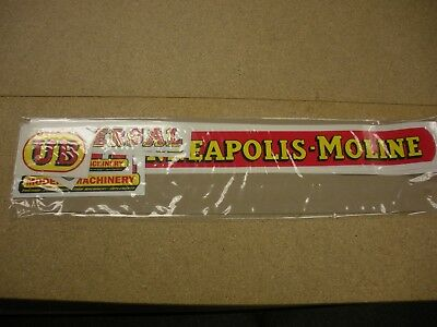 Minneapolis Moline Model Ub Tractor Decal Set - New - Free Shipping