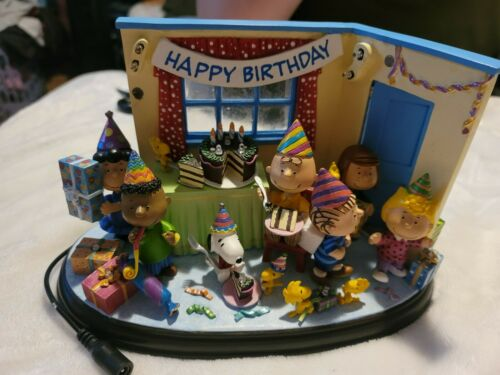 Danbury Mint Peanuts Best Birthday Ever