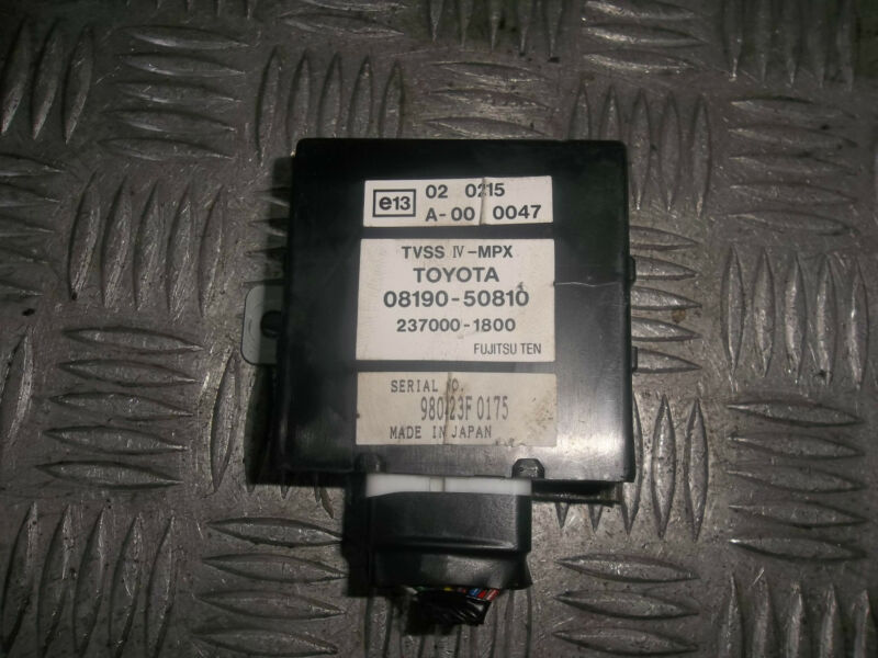 2001 LEXUS GS300 TVSS IV - MPX SECURITY SYSTEM SENSOR MODULE UNIT 08190-50810