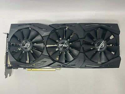 ASUS Republic of Gamers Strix GeForce GTX 1080 Ti 11GB GDDR5X Graphics Card