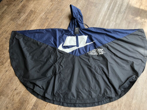sportswear windrunner rain woven poncho jacket unisex