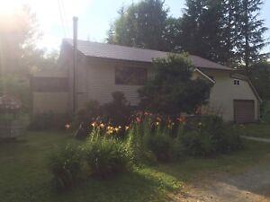 Bella Coola House and acreage