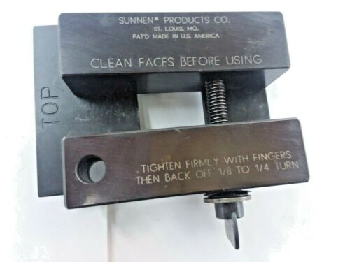 SUNNEN AG-299A PIN SETTING FIXTURE FOR AG-300 PRECISION GAUGE ROD HONING MACHINE