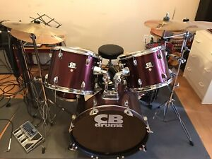 CB drum kit with loads of extras
