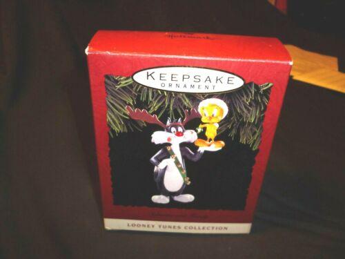 Hallmark Ornament 1993 Sylvester and Tweety New looney tune SKU 73