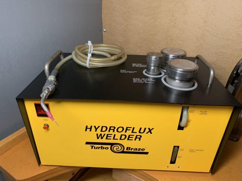 JEWELRY HYDRO -FLUX WELDER Turbo Braze MACHINE.