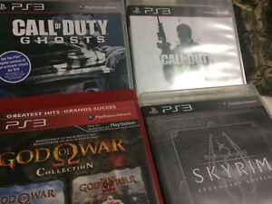 PlayStation 3 games all four $15