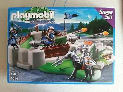 Playmobil Knights Castle Superset 4014  New