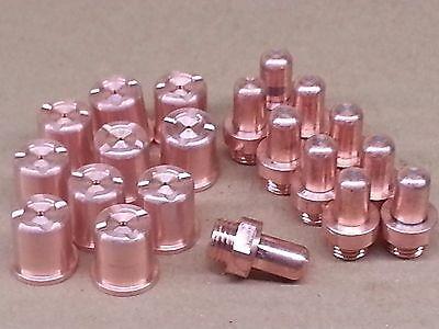 20pc X Nozzles Electrodes For Eastwood Versa Cut 60a Plasma Cutter Us Ship